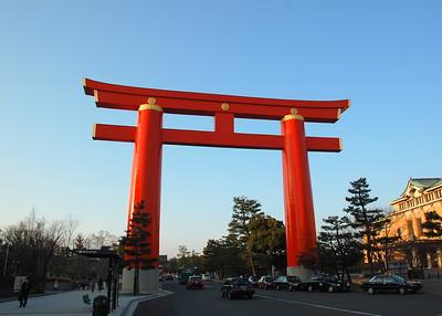 Heian Shrine Torii
