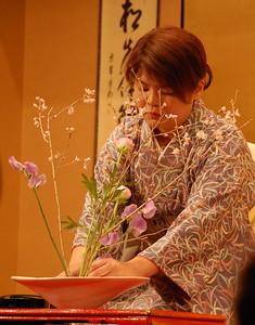 Ikebana – flower arranging