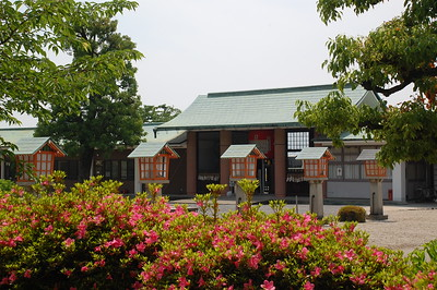 The grounds of the Ryozen Kannon