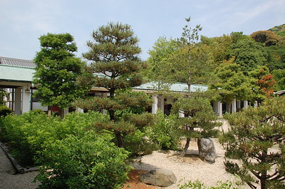 In the grounds of the Ryozen Kannon