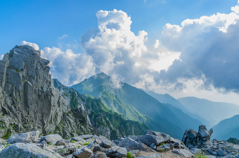 Central Alps in summer. Editorial credit: Navapon Plodprong / Shutterstock.com