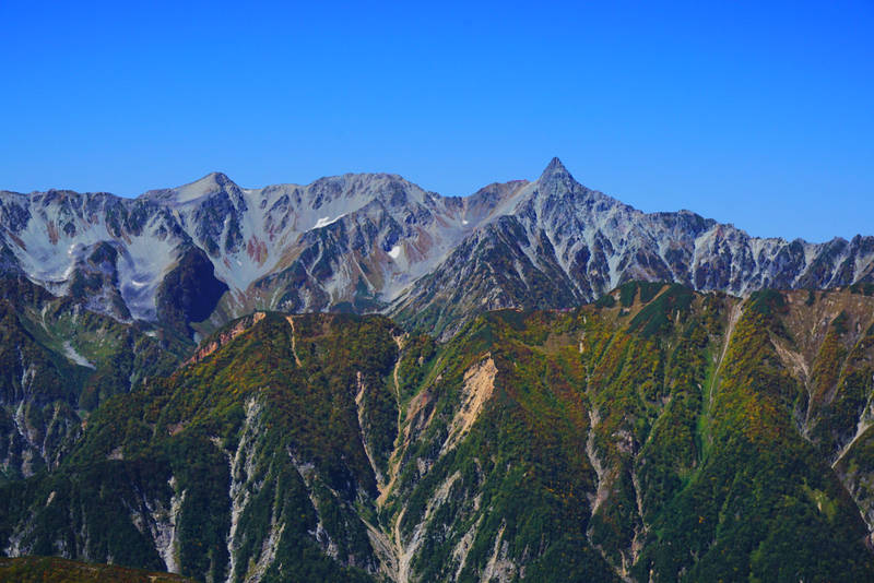 Mt Yari (Yari-ga-Take). Editorial credit: Amstk / Shutterstock.com