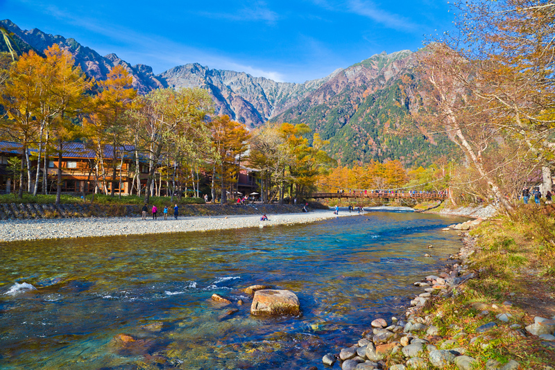 Kamikochi in Autumn. Editorial credit: Thanya Jones / Shutterstock.com