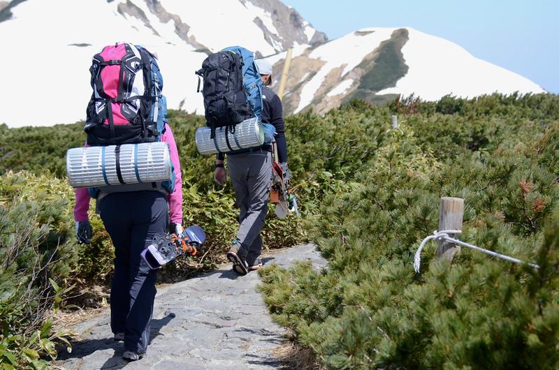 Backpacking near Tateyama. Editorial credit: Meeh / Shutterstock.com