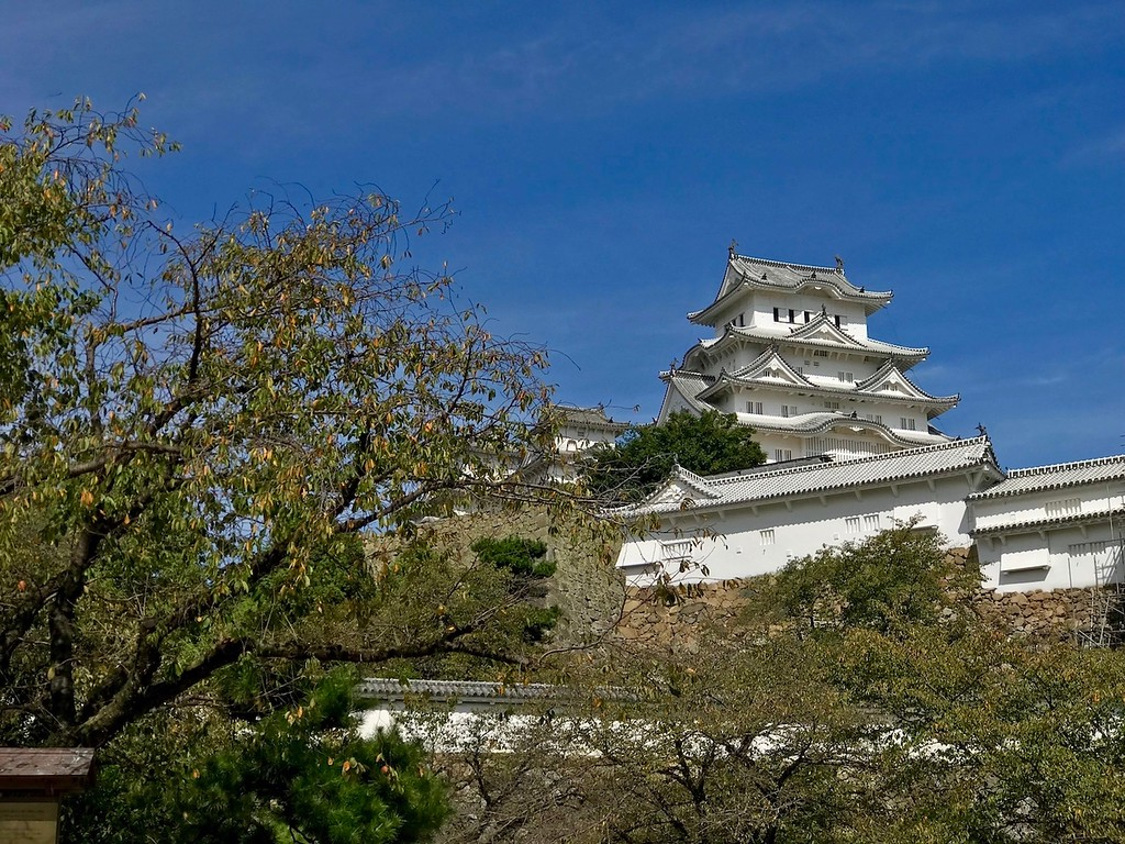 A view of Himeji Castle.