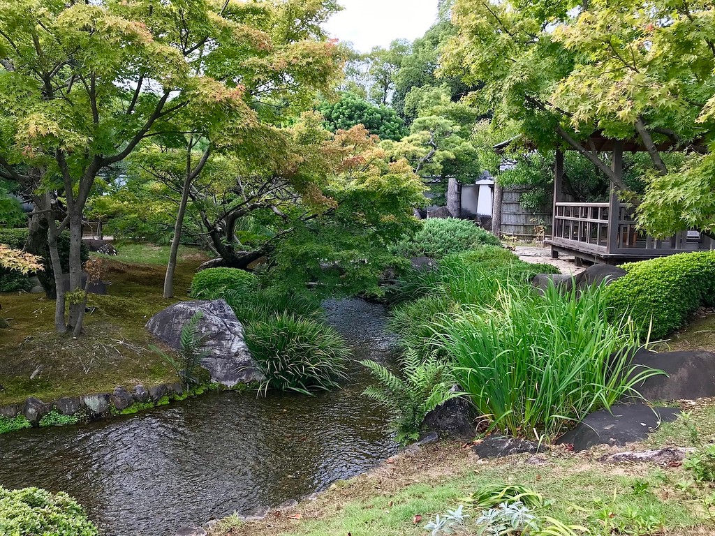 There are many streams running through the garden – perfect for contemplating or relaxing.