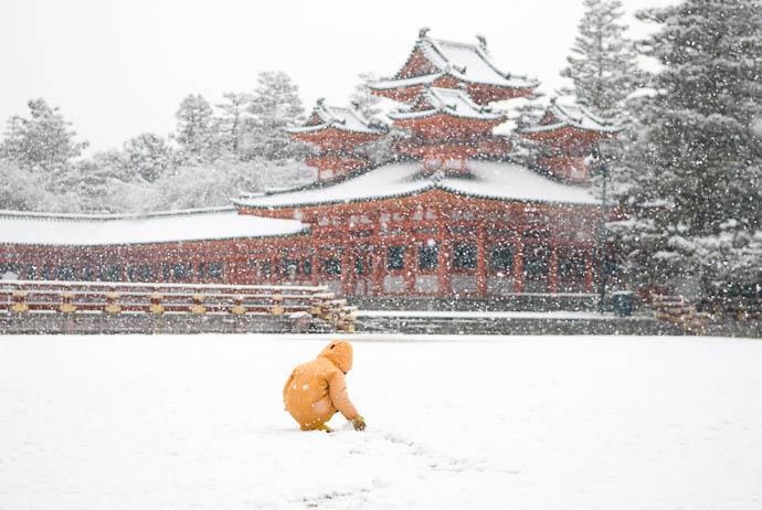 Kyoto Snow image copyright Jeffrey Friedl