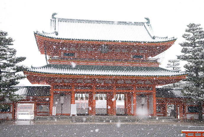 Kyoto Snow image copyright Jeffrey Friedl