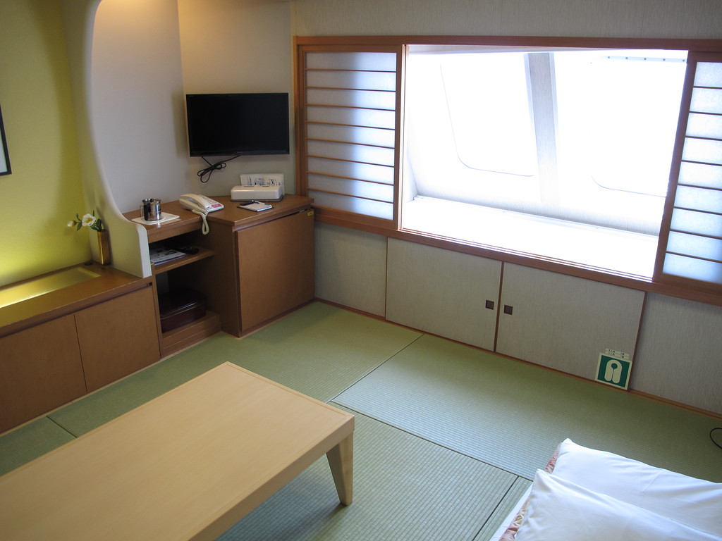 Special Japanese-style private room on the Kiso