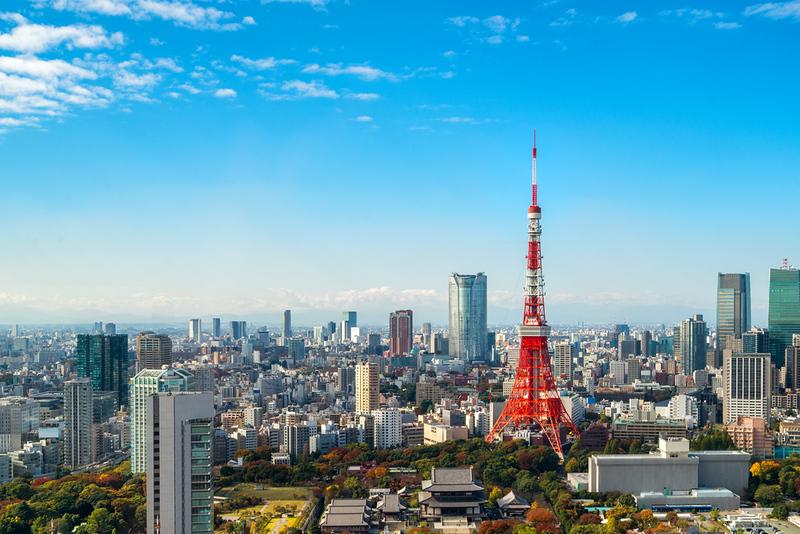 Tokyo skyline with Tokyo Tower. Editorial credit: Blue Planet Studio / Shutterstock.com