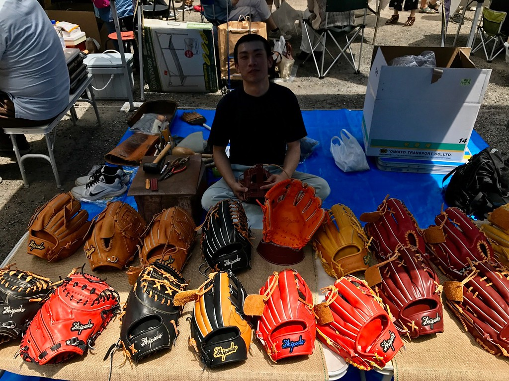 Have you ever stopped to think about the work that goes into handmade baseball mitts?