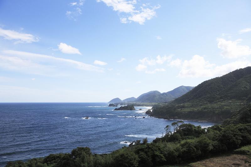 Tango-hanto Peninsula coastal scenery