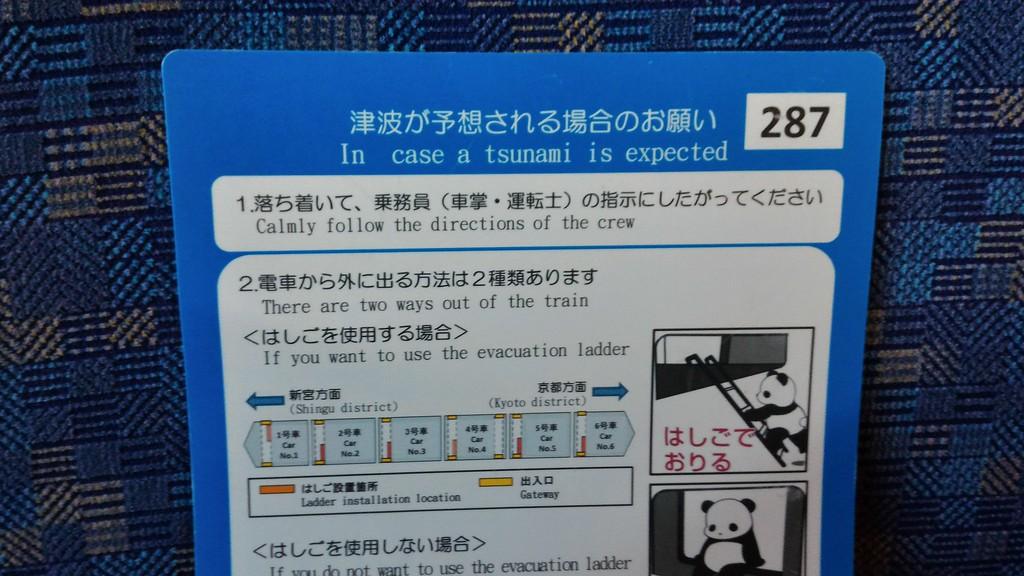 Kuroshio tsunami notice