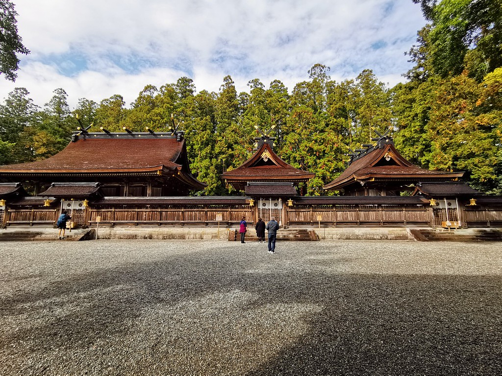 Inner precinct of Kumano Hongu Taisha Shrine