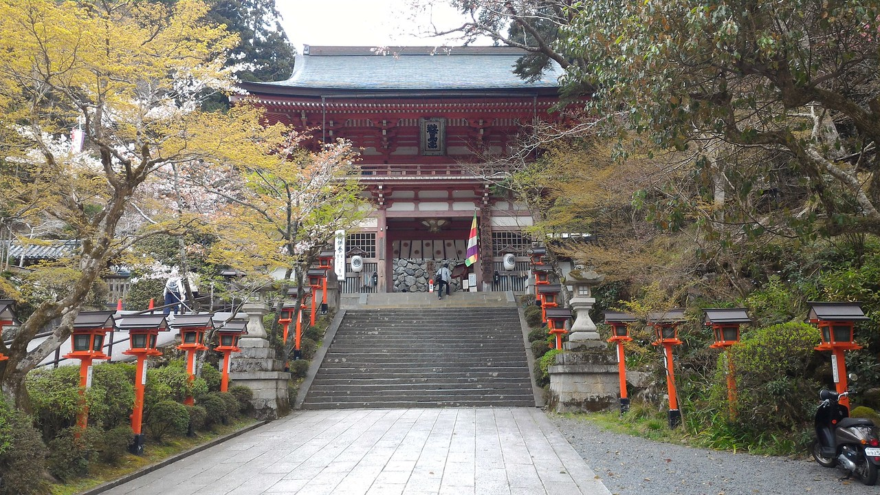 Main Gate of Kurama-dera Temple