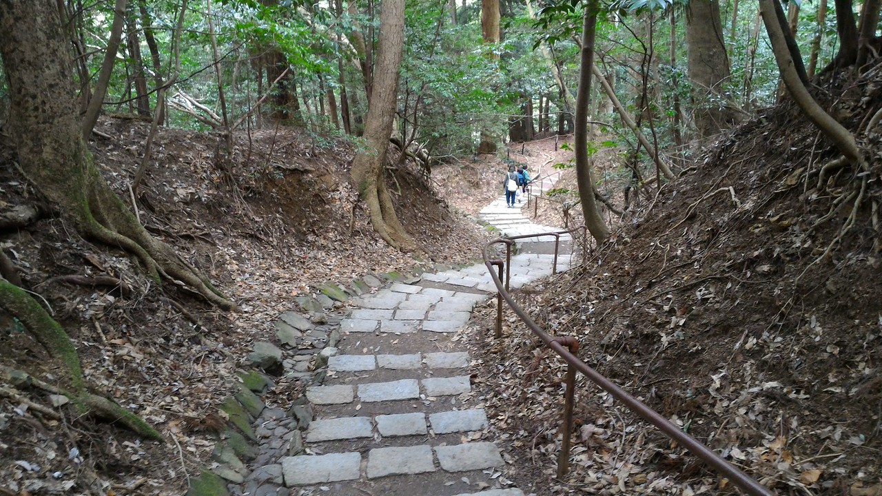 Start of Trail Down to Kibune
