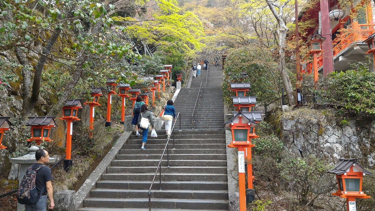 Steps to Main Hall