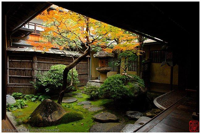 Sumiya Pleasure House garden image copyright Damien Douxchamps