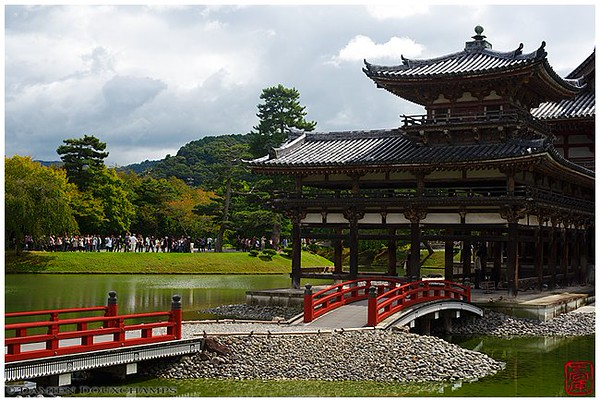Phoenix Hall at Byodo-in Temple image copyright Damien Douxchamps