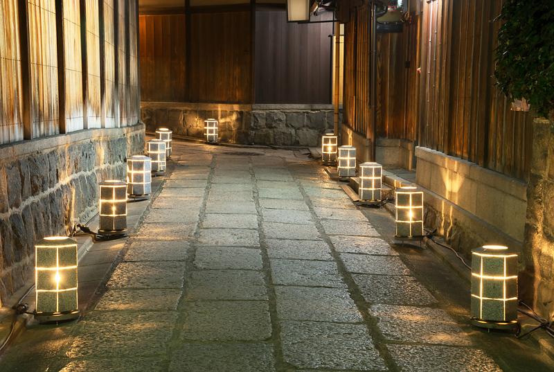 Ishibei-koji Lane during Higashiyama Hanatoro
