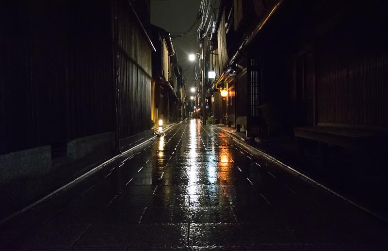 Rainy night in Gion
