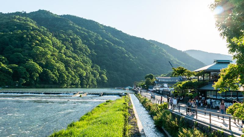 Katsura-gawa River and Arashiyama