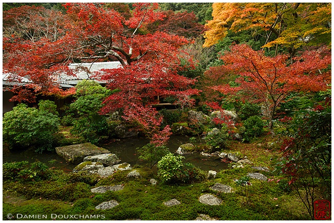Jisso-in Temple in Iwakura, northern Kyoto : copyright Damien Douxchamps
