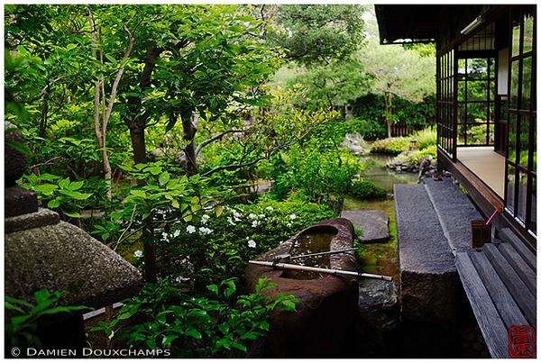 Garden at Namikawa Cloisonné Museum: copyright Damien Douxchamps