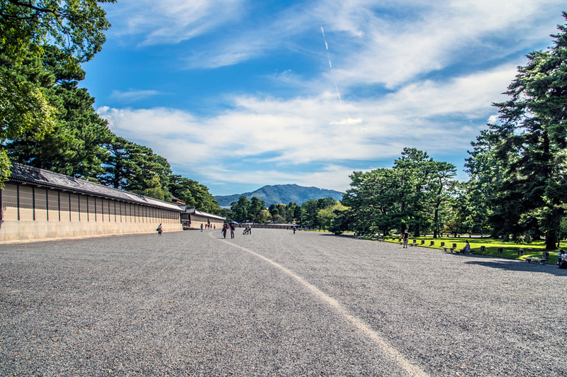 Kyoto Imperial Palace Park. Editorial credit: DutchMen / Shutterstock.com