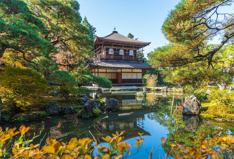 Ginkaku-ji Temple. Editorial credit: gowithstock / Shutterstock.com