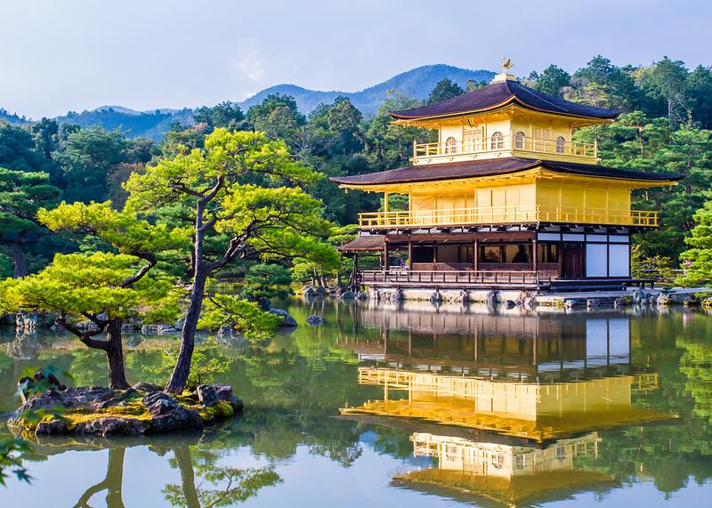 Kinkaku-ji Temple. Editorial credit: marcociannarel / Shutterstock.com