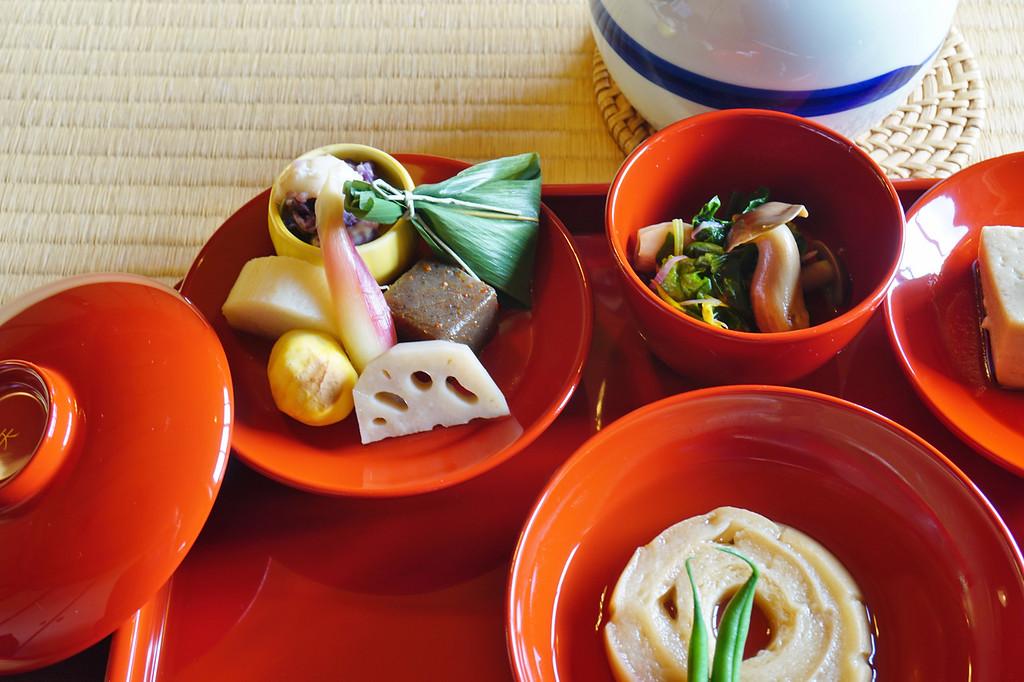 Shojin ryori in Kyoto. Editorial credit: EQRoy / Shutterstock.com