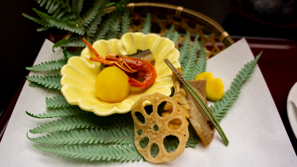 Kaiseki cuisine in Kyoto. Editorial credit: Dach Chan / Shutterstock.com