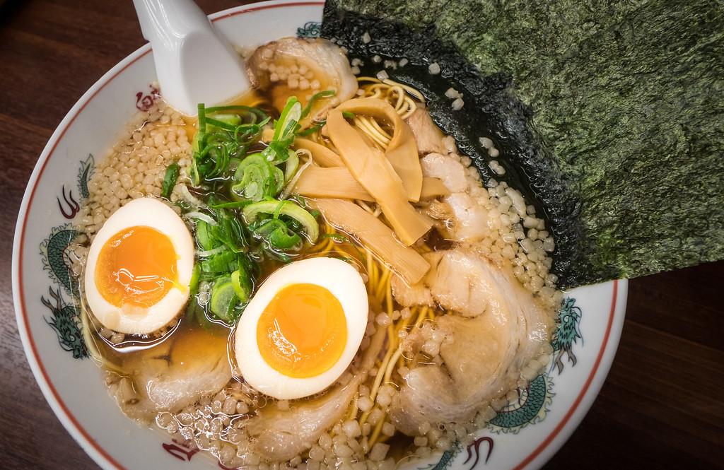 Ramen in Kyoto. Editorial credit: nattawit.sree / Shutterstock.com