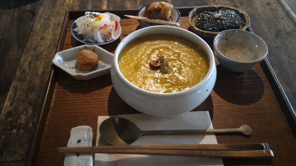 Pumpkin porridge set