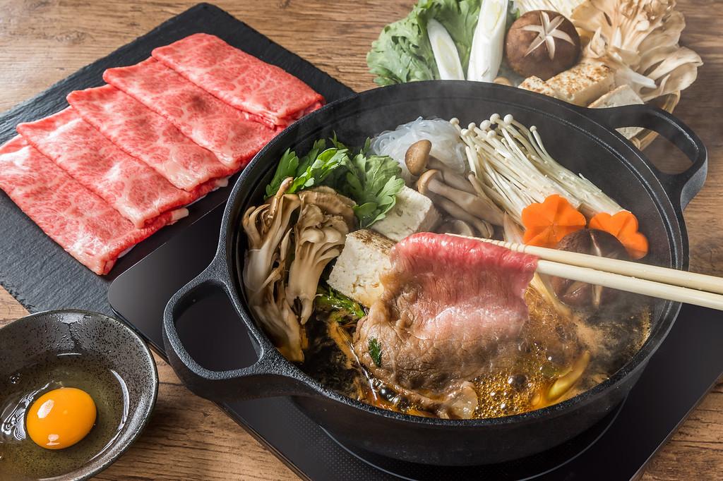 Sukiyaki in Kyoto. Editorial credit: norikko / Shutterstock.com