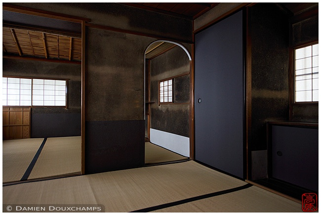 Tea room at Zuiho-in Subtemple at Daitoku-ji Temple : copyright Damien Douxchamps