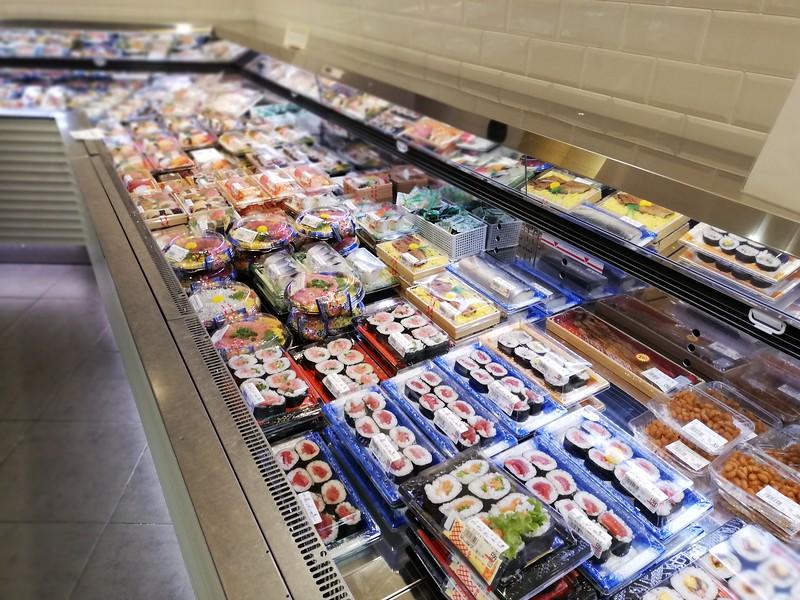 Yaoichi sushi and sashimi section