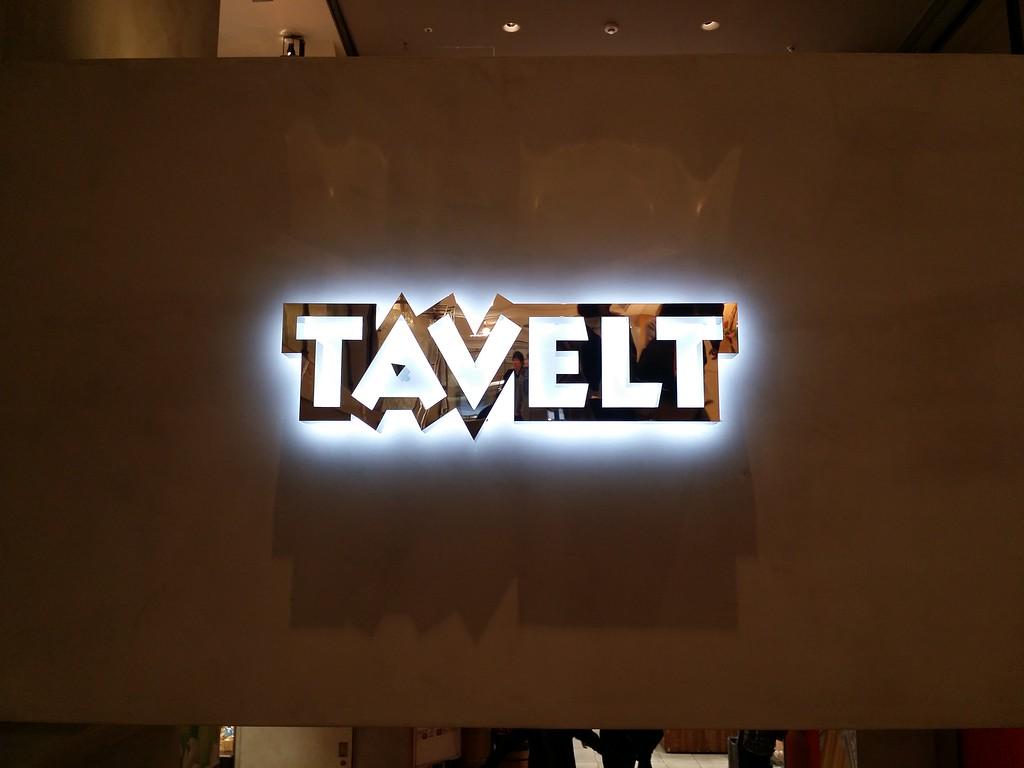 Tavelt sign