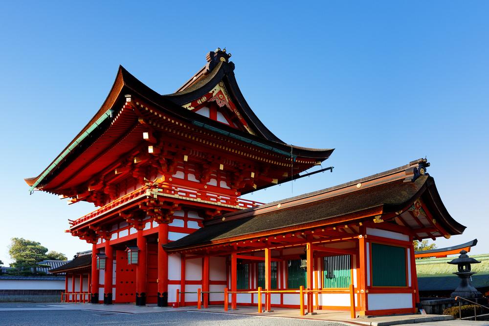 Fushimi-Inari-Taisha Shrine. Editorial credit: Jay Yuan / Shutterstock.com