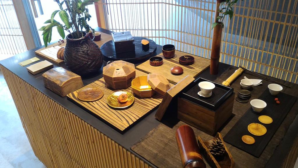 Takamura lacquered bamboo