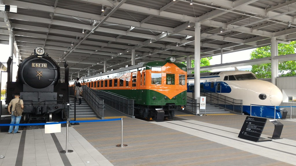 Kyoto Railway Museum Promenade Display