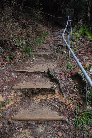 The Kibune end of the 1500 m long path from Kibune to Kurama Temple