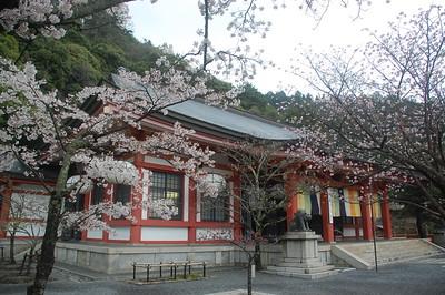 Honden (Main Hall) of Kurama Temple