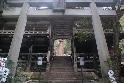 Yuki Shrine Wari-haiden (separated oratory)