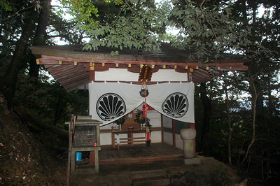 Jizō-dō, a Temple on Mount Kurama