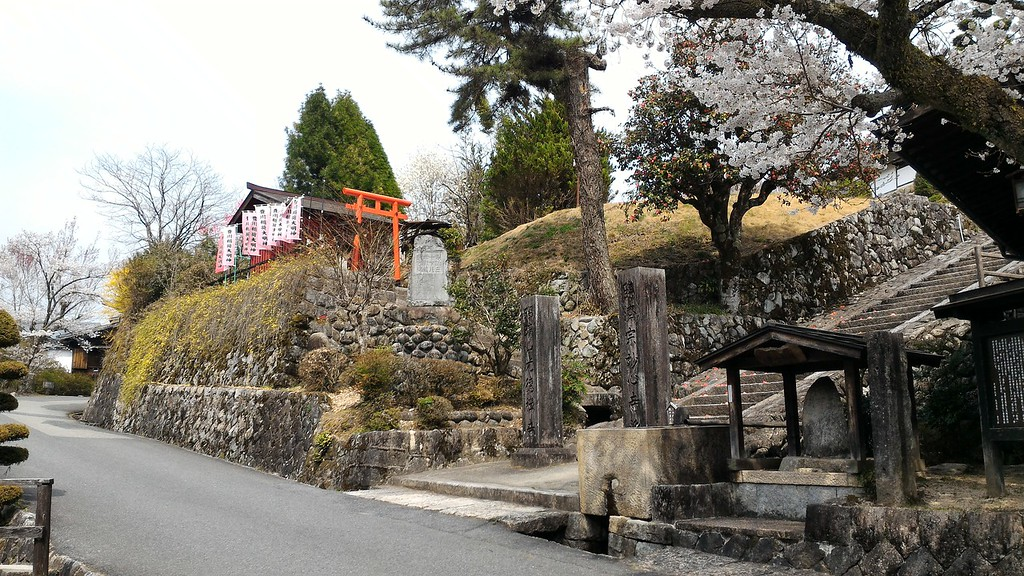 Shrine in Tsumago
