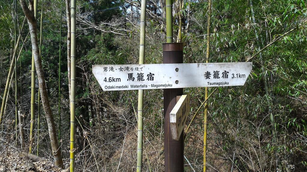 Sign Near Falls