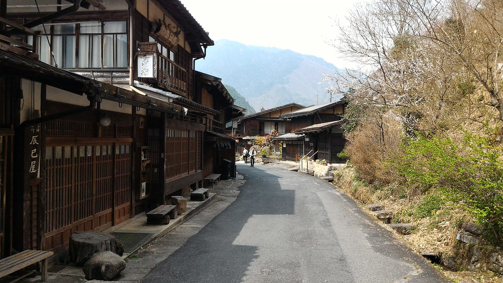 Main Road in Tsumago