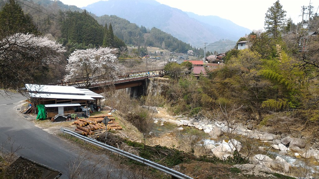 Bridge Into Tsumago